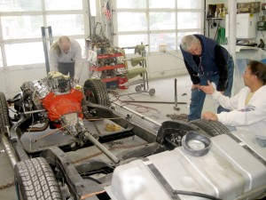 1967 Corvette Frame-Off Restoration, Frame Repair