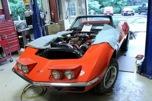 1969 Corvette Convertible Frame-Off Restoration