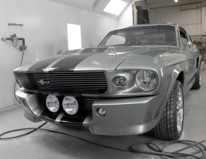 Custom 1967 Mustang Fastback Eleanor from the 2000 Gone in Sixty Seconds film